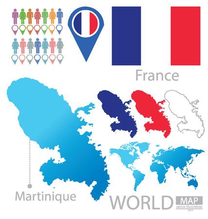 martinique: Martinique vector Illustration Illustration