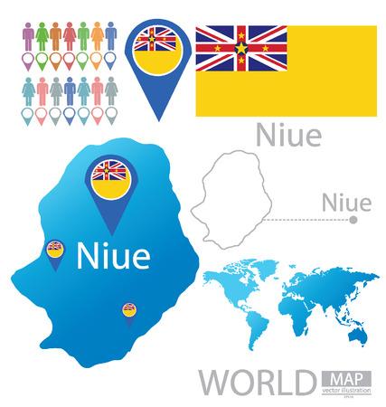 niue: Niue vector Illustration Illustration