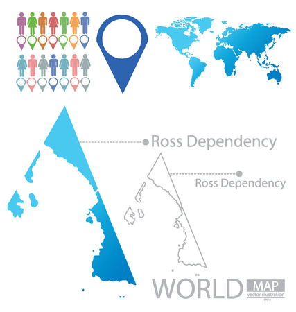 dependency: Ross Dependency vector Illustration