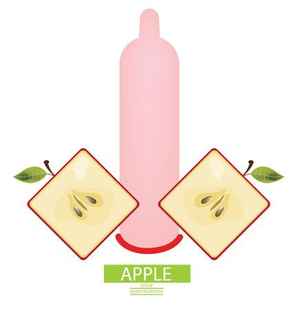 Condom vector illustration Vector