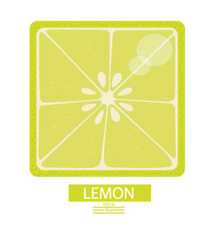 Zitronen Früchte Vektor-Illustration