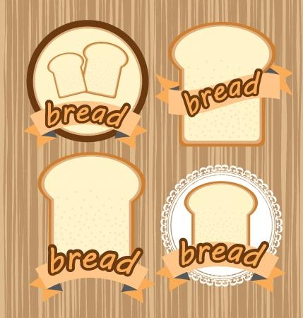 bread vector illustration Vector
