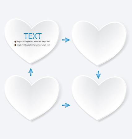 buisiness: Heart diagram illustration