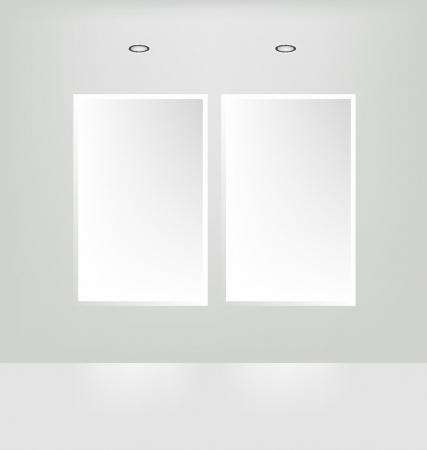 installing: Gallery White frames illustration
