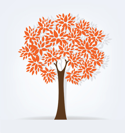 Tree illustration Illustration
