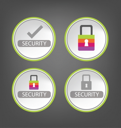 security  Stock Vector - 25248091