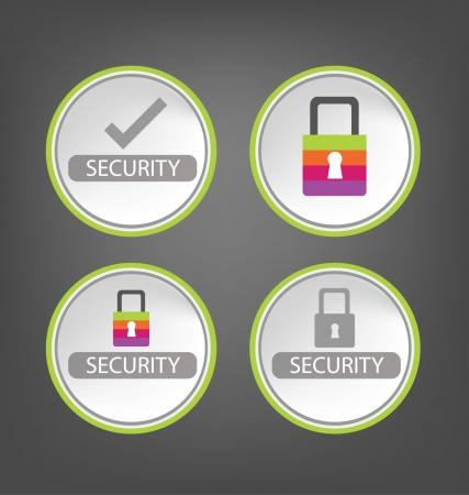 keylock: security  Illustration