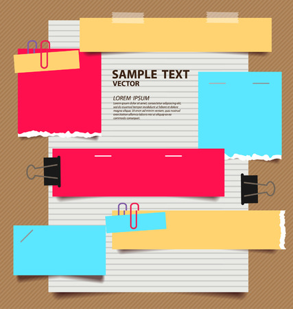 paper vector illustration Vector