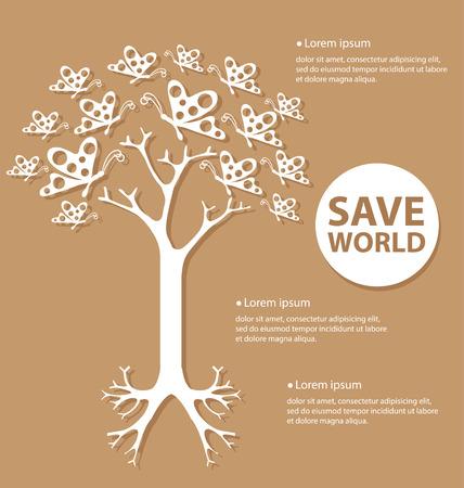 Tree design vector Illustration Vector