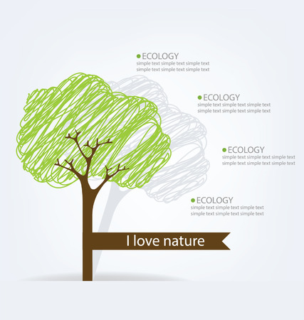 Tree vector illustration Vector