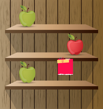 shelf vector illustration Vector