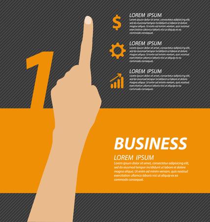 Business concept vector illustration Vector Illustration