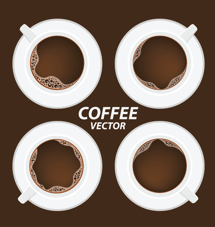 mocca: Coffee cup vector Illustration