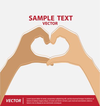 participacion: Manos ilustraci�n vectorial