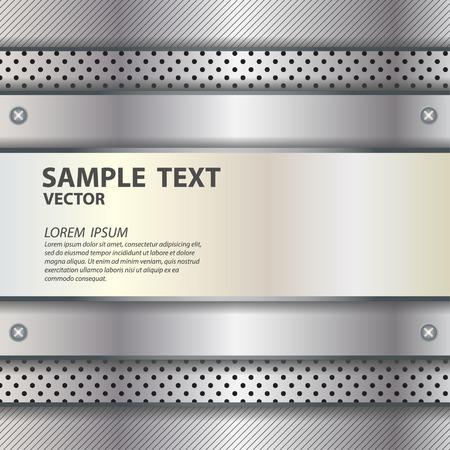 metal texture background vector illustration