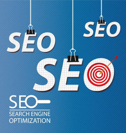 html5: search engine optimization Illustration  Illustration