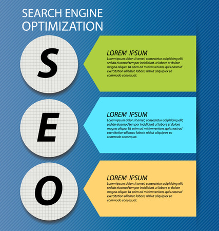 search engine optimization Illustration  Vector