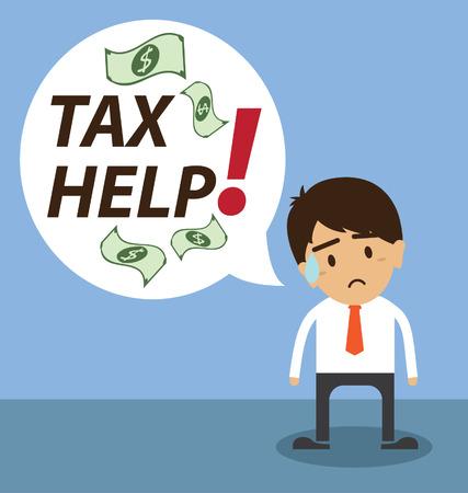 Tax help Vector
