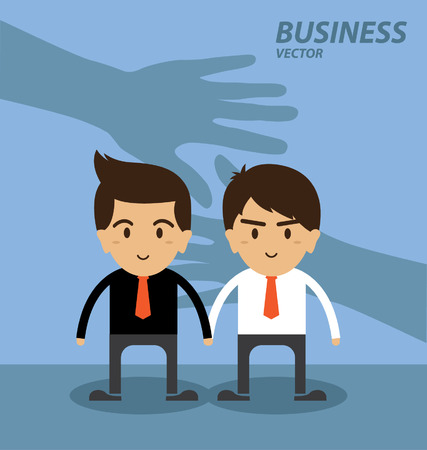 Business and finance Investment hand shake concept Vector