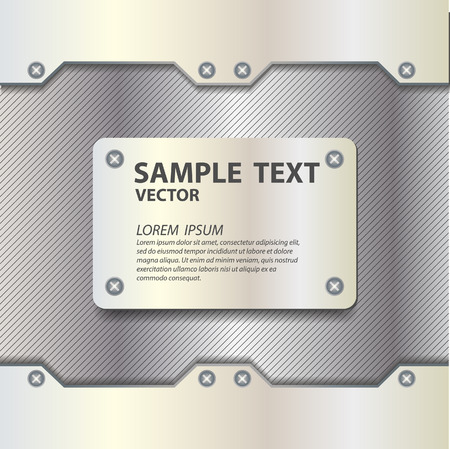 metalic sheet: metal texture background vector illustration