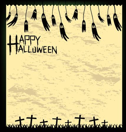 terrible: Halloween vector illustration. Illustration