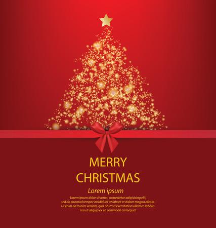 Christmas Greeting Card illustration.