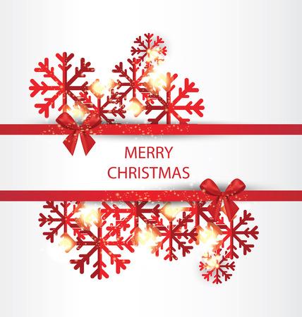 Christmas Greeting Card. Vector illustration. Illustration