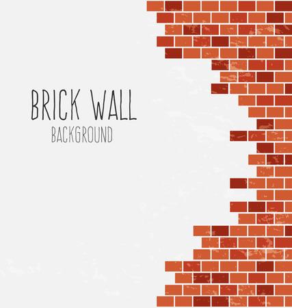 brickwork: brick wall background