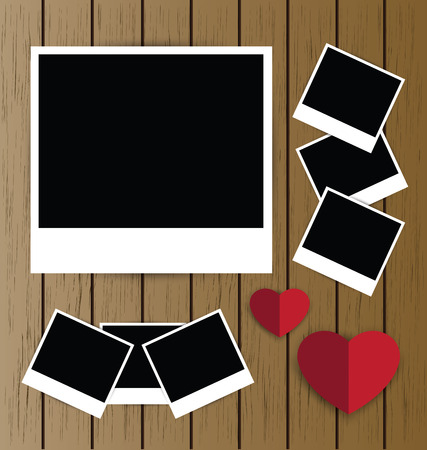 photo backdrop: photo frames Illustration