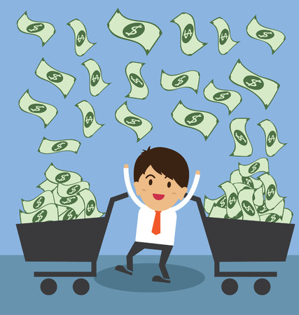 pecuniary: Successful young businessman