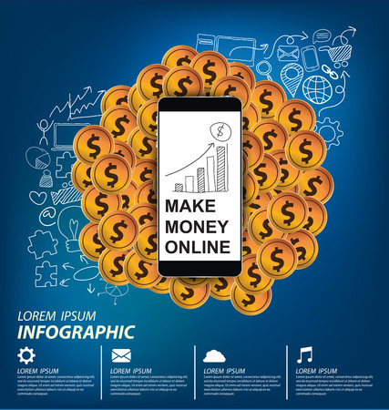 e commerce concept vector Illustration