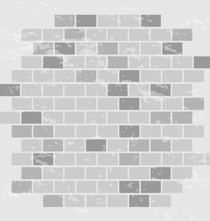 ladrillo: pared de ladrillo de fondo