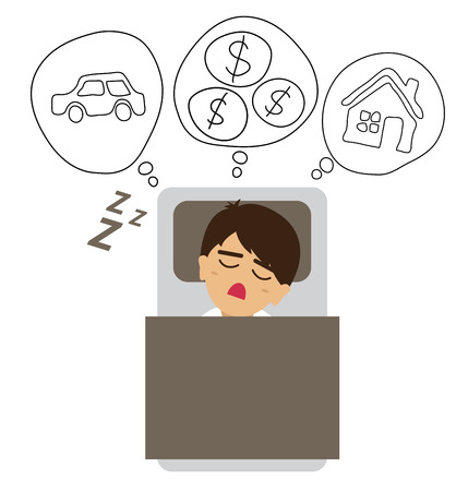 passive earnings: Financial and business concept. vector illustration.