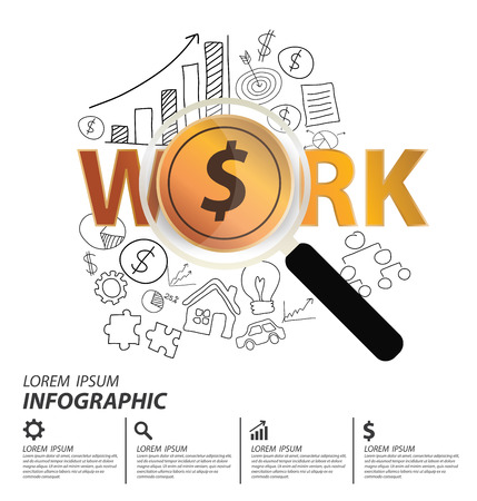 Financial and business concept. vector illustration. Vector