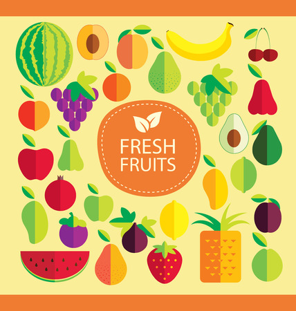 mango fruta: fruta ilustraci�n vectorial