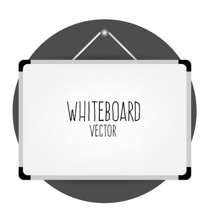 whiteboard: Whiteboard, vector illustration