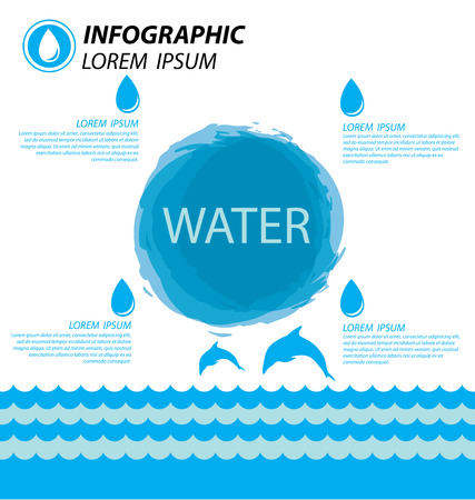 osmosis: water infographics