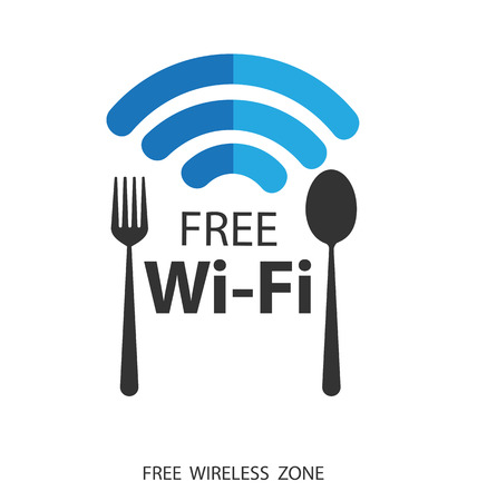 vector wifi symbol, free wifi Vector