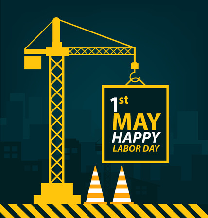 labour day: Labor Day concept. vector illustration.