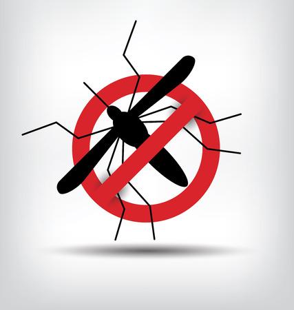 infectious: pare la muestra de mosquitos. ilustraci�n vectorial.