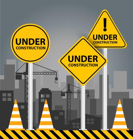 Under construction concept. vector illustration. Vector