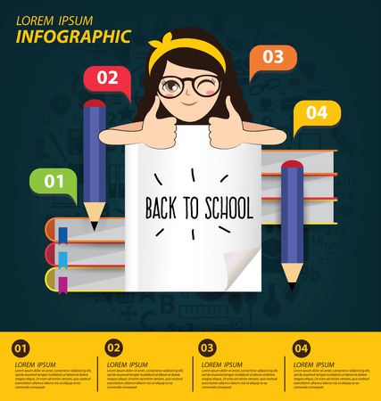 Education concept vector Illustration