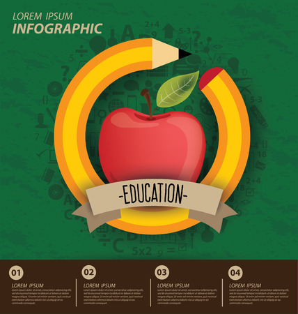 child education: Education concept vector Illustration