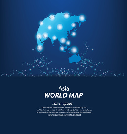 World Map vector Illustration Illustration