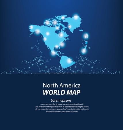 World Map vector Illustration Ilustração