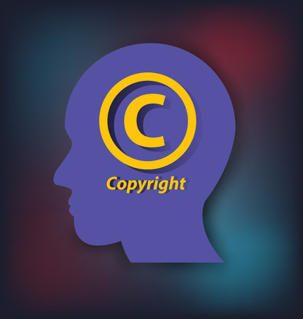 copyright: Copyright concept. vector illustration.