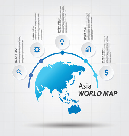 south asia: World Map