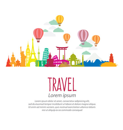 Travel and tourism concept