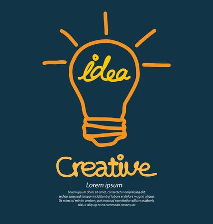 idea concept vector illustration. 向量圖像