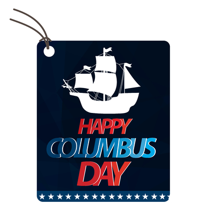 columbus: Vector illustration Columbus Day.